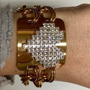 Juicy Couture Jewelry - JUICY COUTURE HEART STATON & CHAIN BRACELET NWT